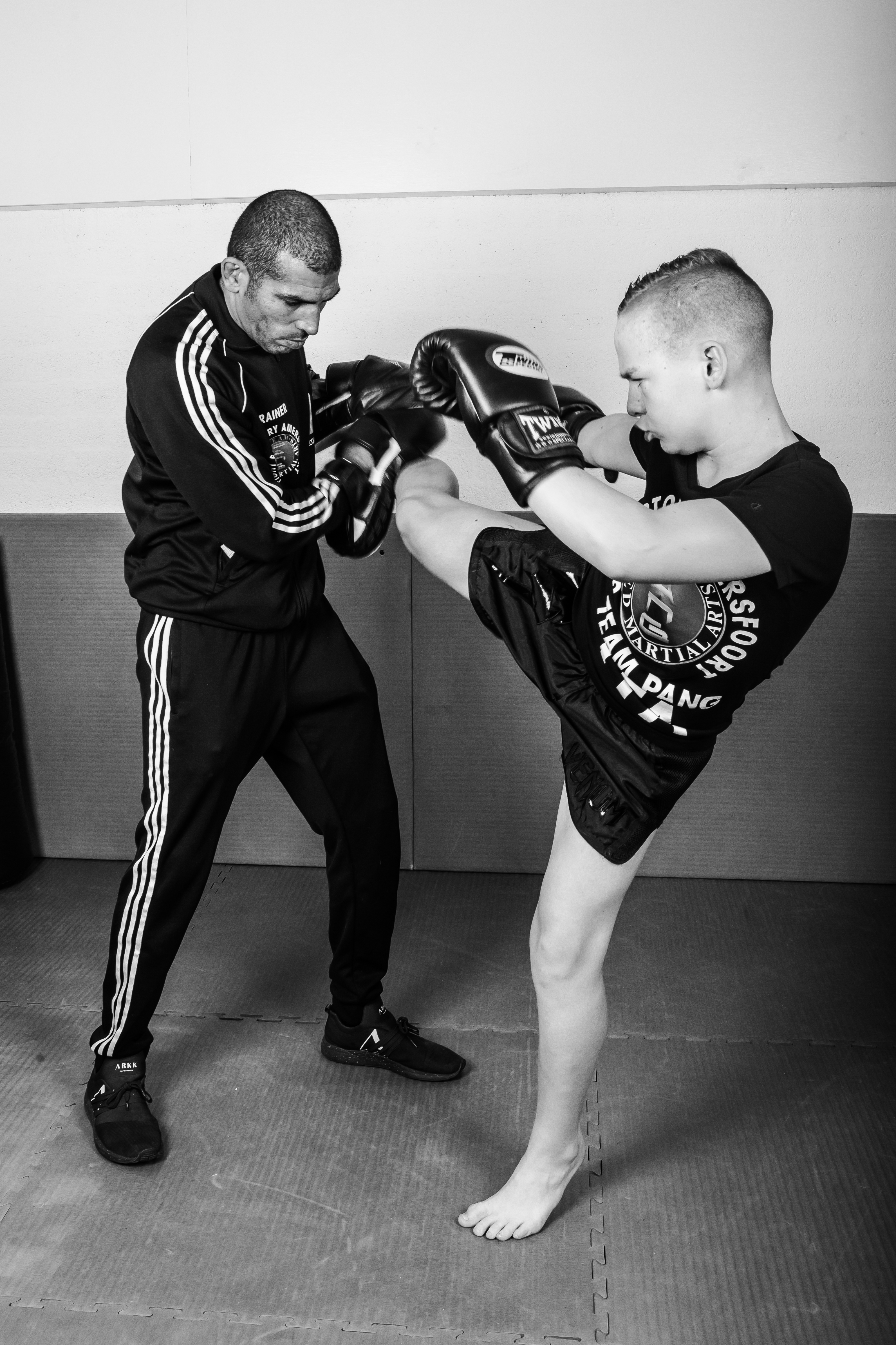 trainingen kickboksen weerbaarheid
